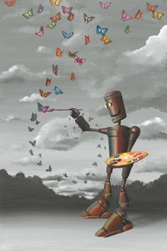 """Flight of Fantasy"" by Michael Summers. Fine Art Limited Edition, 20"" x 30"". (ALMOST SOLD OUT!)"
