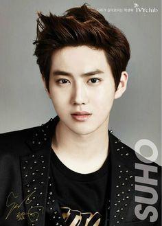 Exo - Suho Kim Joonmyeon Joonmyun Leader #magazine