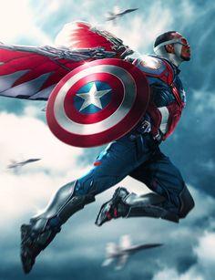 Sam Wilson as Captain America - Aiko Aiham