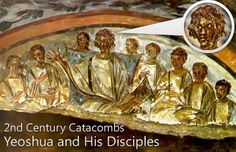 Century Catacombs of the Messiah and his disciples.yes its true they were ALL black before being Europeanized. Before the Renaissance period all of the biblical icons all over the world depicting Jesus Christ was black. Tempera, Description Of Jesus, Black Jesus, White Jesus, Horn Of Africa, Black History Facts, African Diaspora, Before Us, Christian Art