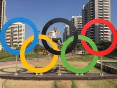 FAU-Studentin Nadja Pries nahm als erste deutsche Frau in der Disziplin BMX-Race an den Olympischen Spielen in Rio teil. Ihre Eindrücke von der Stadt und den Spielen könnt ihr im Blog meineFAU nachlesen. (Bild: Julian Schmidt)