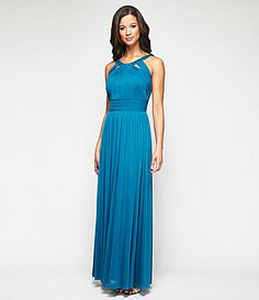 Alex Evenings BeadNeck Cutout Gown from Dillards. Love the color.