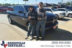 https://flic.kr/p/MBS3Wz | Happy Anniversary to Dulcie on your #Ram #1500 from Juli?n Seiler at Greenville Chrysler Jeep Dodge  Ram! | deliverymaxx.com/DealerReviews.aspx?DealerCode=J122