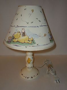 Disney charpente classic winnie the pooh picture frame pinterest disney classic winnie the pooh baby room nusery table lamp shade aloadofball Images