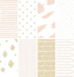 Hand-drawn Vector Stripes and Patterns (free download!)| June Letters Studio ||