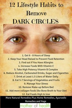 How to Remove Dark Circles Under the Eyes with Lifestyle Changes, Home Remedies, Ayurvedic and Yoga