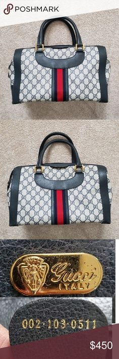 I just added this listing on Poshmark: Fair Condition Vintage Gucci Boston Doctor Handbag. #shopmycloset #poshmark #fashion #shopping #style #forsale #Gucci #Handbags