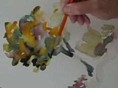 Paint A Water Color Tree