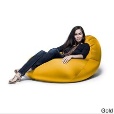 Nimbus Large Spandex Bean Bag Chair (