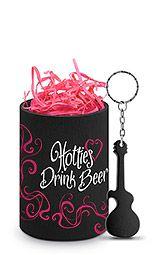 Hotties Drink Beer Can Epicool™ & Opener Gift Set
