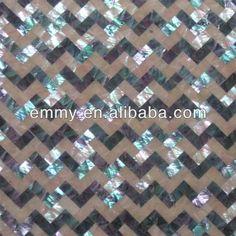 Herringbone Abalone Shell Kertas Dinding Ubin Mosaik  34a5c1a0dc