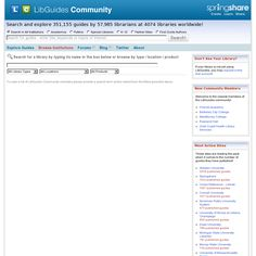Libguides - curated collections of relevant resources on a specific learning topic. A good curated example page authored by Joyce Valenza and Deb Kachel focuses on showcasing an extended curated selection of content references, video clips, PDFs, tools lists on the topic of digital content curation in education. Lots of useful resources and references, and some good examples of curation at work in different educatonal projects.