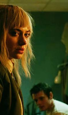 Imogen Poots and Anton Yelchin in Green Room, directed by Jeremy Saulnier