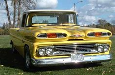 Chris Guernsey's 1960 Chevy Apache -- A restored old truck