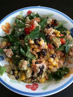 WE EAT: BBQ Chicken Quinoa Salad