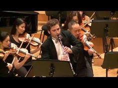 Aaron Copland Clarinet Concerto ;Taras Demchyshyn ,clarinet Alan Buribaev, conductor - YouTube
