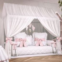 Girls Bedroom, Bedroom Decor, Girl Toddler Bedroom, Toddler Princess Room, Little Girl Beds, Montessori Bedroom, Baby Room, Nursery Room, Decoration