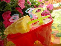 Aleda konyhája: Citromfagylalt Watermelon, Peach, Candy, Fruit, Food, Sweet, Toffee, Peaches, Sweets