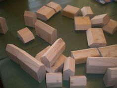 """Building Blocks"" - Part 1 - Cutting the Wood | Wee Folk Art"