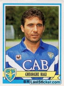 Gheorghe Hagi (Brescia - Serie A) Football Drills, Football Jerseys, Good Soccer Players, Football Players, Fifa, Football Fashion, Football Stickers, World Football, Athlete