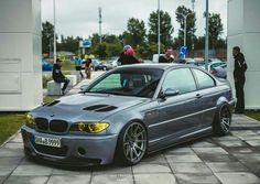 BMW E46 3 series grey