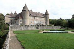 Château de Virieu - Virieu-sur-Bourbre, Isere, Dauphine