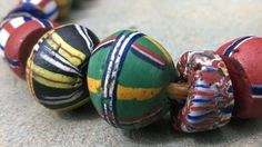 African Trade BeadsVintage Venetian Glass Beads67 by RedEarthBeads