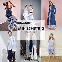 [ TREND REPORT ] MEN'S SHIRTING . RESORT 2017