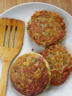 Sio-smutki: Placki ziemniaczane z mięsem mielonym i cukinią Kitchen Recipes, Cooking Recipes, Healthy Snacks, Healthy Eating, Good Food, Yummy Food, Lunch Box Recipes, Pork Dishes, Food To Make