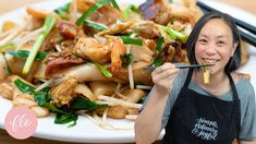 Fried Rice Noodles, Pasta Noodles, New Chinese, Asian, Sous Vide, Street Food, Food Dishes, Entrees, Fries