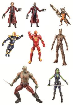 Toy Fair 14: Preview MARVEL's GUARDIANS OF THE GALAXY toys from #Hasbro. #TFNY #TF14 #Disney