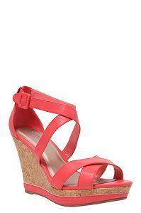 Lena Coral Cork Wedge Heels - Torrid  http://www.torrid.com/torrid/Shoes/Wedges//Lena+Coral+Cork+Wedge+Heels+Wide+Width-503769.jsp