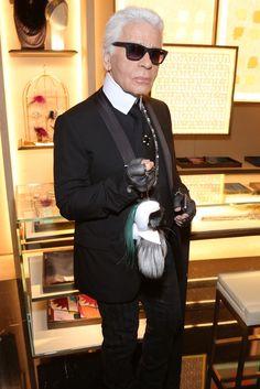 Karl Lagerfeld [Photo by François Goize]
