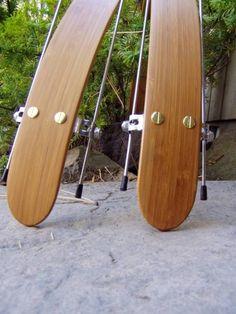 Wood bicycle fenders found on Etsy.