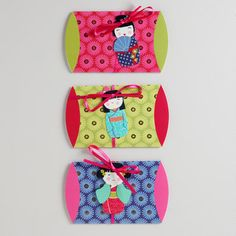 One of my favorite discoveries at WorldMarket.com: Kokeshi Dolls Gift Pouches, Set of 3