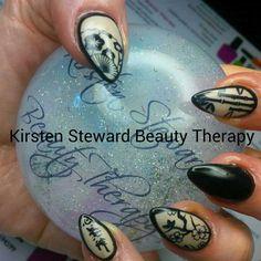 Oriental nail art, Artistic colour gloss, Kirsten Steward Beauty Therapy