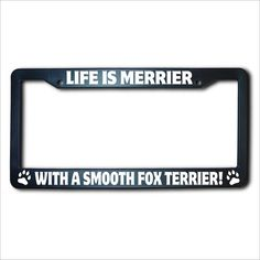 This is one new, made in the USA, high-impact black acrylic license plate frame. It uses precision, computer-cut all weather solid vinyl for the Barrel Racing Quotes, Barrel Racing Horses, Barrel Horse, Smooth Fox Terriers, Toy Fox Terriers, Boston Terriers, Horse Girl, Horse Love, Horse Quotes