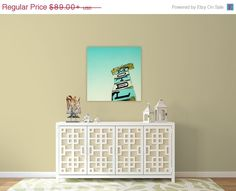 For my guest room?  mid century modern // wall art // canvas   Mid by SeptemberWren, $71.20