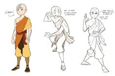 The Promise Sketches - Aang