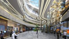 shopping malls interior dubai - Google Search