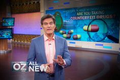 Are There Impostors In Your Medicine Cabinet? : Are your prescription drugs counterfeit? A Dr. Oz investigation reveals the startling truth about where your meds are coming from.