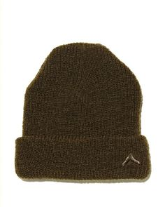 Boot Camp Wool Hat - Olive - Our signature wool beanie with tonal embroidered chevron logo. - 100% Wool. - Made in New York.