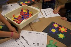 Fun in First Grade: Pattern Block Pictures