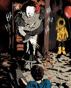 Read zdjęcia/tapety from the story IT imagines 🎈 by (pumpkin) with reads. Arte Horror, Horror Art, Scary Movies, Horror Movies, Slasher Movies, Bill Skarsgard Pennywise, Pennywise The Dancing Clown, It Pennywise, Le Clown