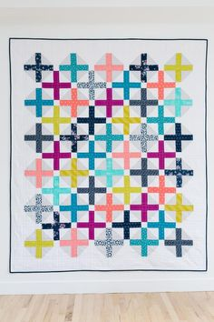 Amy Smart Hopscotch Quilt Pattern - made by Katie Blakesly for Pattern Drop