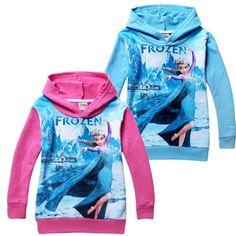 Frozen Elsa Hoodie – Aaliyah's Boutique
