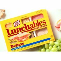 Lunchables, if your mom packed one of these in your luch... you were soo cool haha