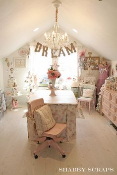 Not a scrapbook room...but what an amazing room for creating!!!!