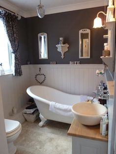 guest bathroom - I love everything about this room!