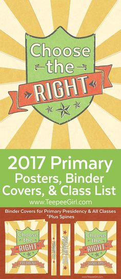 2017 lds primary bulletin board printables choose the for Idea door primary printables